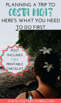 Yeay! You are planning a trip to Costa Rica! Get ready for some serious fun, adventure, relaxation, and more! Here is a complete list to help you in planning your trip to Costa Rica with tons of info plus a bonus printable checklist for FREE!
