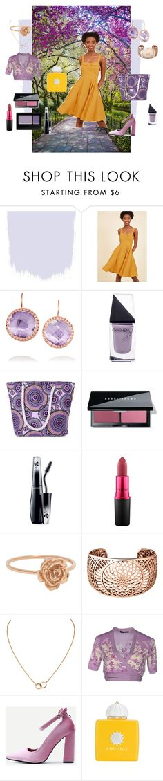 """""""She Is The Sunshine In Their Lives"""" by wendy-collins-1 on Polyvore featuring Larkspur & Hawk, GUiSHEM, Bobbi Brown Cosmetics, Lancôme, MAC Cosmetics, Links of London, Cartier, LIU•JO and AMOUAGE"""