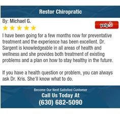 I have been going for a few months now for preventative treatment and the experience has...