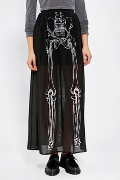 #Urban Outfitters         #Skirt                    #Iron #Fist #Them #Bones #Chiffon #Maxi #Skirt      Iron Fist Them Bones Chiffon Maxi Skirt                                       http://www.seapai.com/product.aspx?PID=1565072