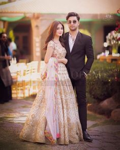 Ahad Raza Mir and Sajal Aly Awesome Pictures from Yasir Iqra Wedding Pakistani Party Wear Dresses, Bridal Dresses, Prom Dresses, Sajal Ali Wedding, Cute Couple Selfies, Indian Wedding Gowns, Pakistani Fashion Casual, Pakistani Actress, Pakistani Girl