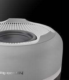 mini speaker Harman Kardon Aura White Product Design #productdesign