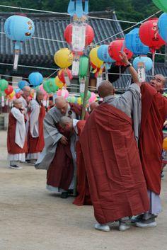 Der hvor det klør   Korea   Buddha