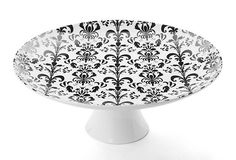 Marigold Houseware Nouveau Chic Footed Cake Platter