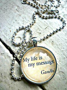 Make it a good one! #Gandhi