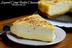Layered Crème Brûlée Cheesecake Inspired by Renuzit Tempting Indulgences, #TemptYourSenses - Will Cook For Smiles