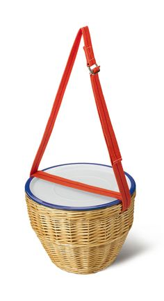La bonita y original versión del típico cesto de picnic de la preciosa marcaVariopinte.  <  <  <  <  <    --- Variopinte  &nbsp...