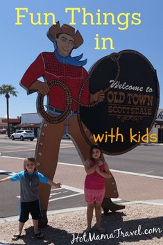 Visiting Old Town Scottsdale with Kids
