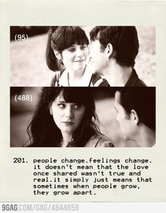Sometimes when people grow, they grow apart.
