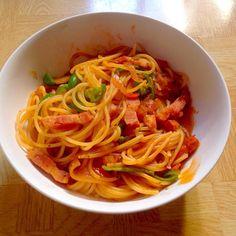 塩分無添加の野菜ジュースとウスターソースで簡単に - 62件のもぐもぐ - トマトのスープパスタ by taroumasaydyZ