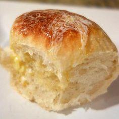 Slow Cooker Rolls start with frozen roll dough.