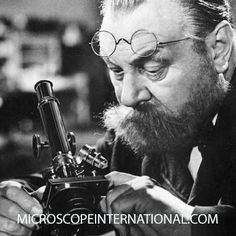 Without a Microscope, Robert Koch would not have won the Nobel Prize in 1905 or discovered what caused tuberculous. #science #microbiology #microscope