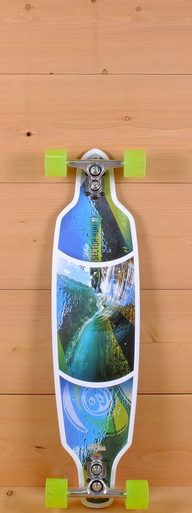 """The Sector 9 36"""" Fractal is designed for sidewalk surfing and cruising."""