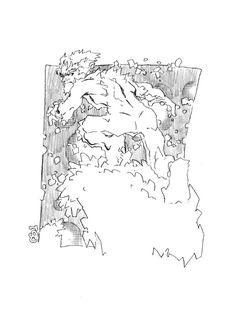 Iceman by Chris Bachalo (via X-Men Character Design: ICEMAN Comic Art For Sale By Artist Chris Bachalo at Romitaman.com)