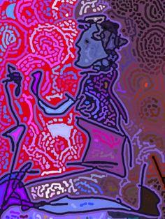 "Saatchi Online Artist Tina Vaughn; Digital, ""The Ride Home"" #art"