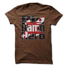 (Tshirt Choice) Big Damn Hero at Sunday Tshirt Hoodies, Funny Tee Shirts