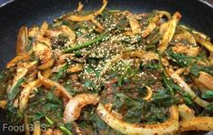 Soondae Bokkeum from Oh Ma Ni   http://www.chowzter.com/fast-feasts/north-america/Los%20Angeles/review/Oh-Ma-Ni/Soondae-Bokkeum/5967_6047