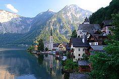 Hallstatt, Upper Austria, is a village in the Salzkammergut, a region in Austria. It is located near the Hallstätter See (a lake).