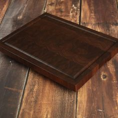 22x16x1 3/4  230.00  with juice grove,fingergrip,feet NorthCountryWoodShop Elegant Very Large End Grain Cutting Board by