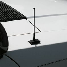 """Match the sleek look of your Mustang with UPR Products 6"""" Billet Shorty Antenna for your 1979-2009 Ford Mustang. Replacing the stock 29"""" tall antenna will give your car a much cleaner look."""