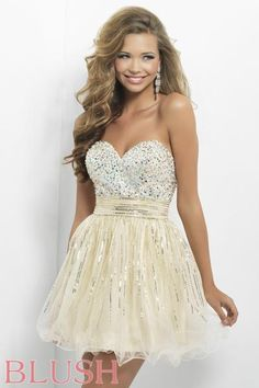 Homecoming dresses by Blush Prom Homecoming Style 9665 #IPAProm