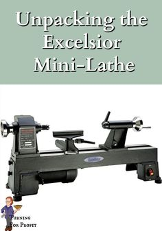 See me open my new Excelsior Mini Lathe, the small adjustments I made and my overall review. I'm really excited with my new purchase, feel free to check it out with me. Woodworking Projects Diy, Woodworking Plans, Best Wood Lathe, Cast Iron Beds, Rare Earth Magnets, Wood Turning Projects, Wood Bowls, New Toys, In The Heights