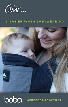 When the first months of little's life are colicky, baby and mama can both feel better hugged close in a good baby carrier. Click the source to see the new Boba with comfy newborn insert included! Boba Baby Carrier, Colic Baby, Babywearing, Feel Better, Comfy, Tips, Baby Wearing, Infant Clothing, Toddler Dress