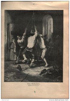 """Beim Glockenläuten   - Druck, entnommen  aus """"die Gartenlaube"""", 1910"""