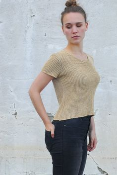 STRENESSE  GROUP knitted t-shirt by Troll2Treasure on Etsy