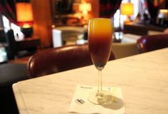 Buck's Fizz Gin at Invention, Los Angeles Athletic Club