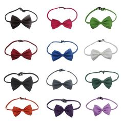 OurWarm Neck Cute Pet Dog Cat Bow-Tie Bow Necktie Clothes Collar Mix Color 12 Colors,Package for 12 Cat Bow Tie, Bow Tie Collar, Tie Bow, Pet Dogs, Dog Cat, Pets, Dog Itching, Dog Training Pads, Dog Shower