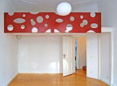 loft bed, custom motif