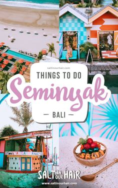9 x Things To Do in Seminyak Bali - - Restaurants Seminyak Beachclubs Seminyak Things to do Seminyak Bali Bali Travel Guide, Asia Travel, Travel Guides, Travel Tips, Bali Waterfalls, Bali Restaurant, Bali Shopping, Bali Honeymoon, Best Sunset