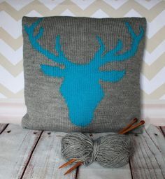This is a nice and easy knitting pattern featuring a stag head silhouette. This can be used to cover a cushion pad, or a box canvas if you'd prefer to display your hard work on the wall and have a unique piece of art!This pattern is an instant download and includes all the instructions you needFinished piece measures 40x40cmknitted in one piece in Double Knitting yarn with a 5 button opening at the back when sewn upMaterials Required:DK Yarn1 x pair 4mm knitting needles (6 US, 8 Old UK)5 x…