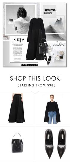 """""""I'm me - Svmoscow.ru #4"""" by undici ❤ liked on Polyvore featuring Gareth Pugh, Solace, The Row and Balenciaga"""