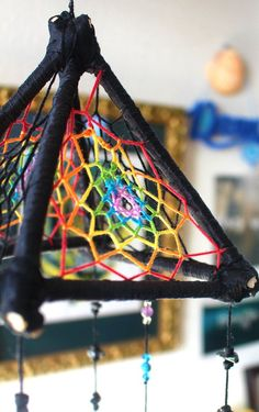 New Ideas Diy Dream Catcher Lace Beautiful Making Dream Catchers, Dream Catcher Art, Diy Tumblr, Quarts Crystal, Beautiful Dream Catchers, Diy Holz, Crafty Craft, Etsy, Wind Chimes