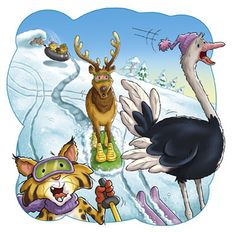 Richard Hoit Winter Illustration, Cartoon Characters, Fictional Characters, Kids Cards, Animals And Pets, Scooby Doo, Storytelling, Art For Kids, Illustrations