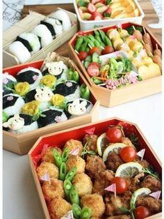 もう迷わない!運動会や遠足の行楽弁当の詰め方 [暮らしニスタ] 暮らしのアイデアがいっぱい♪ Japanese Bento Lunch Box, Bento Box, Kids Meals, Easy Meals, Korean Dishes, Picnic Foods, Food Platters, Recipes From Heaven, Aesthetic Food