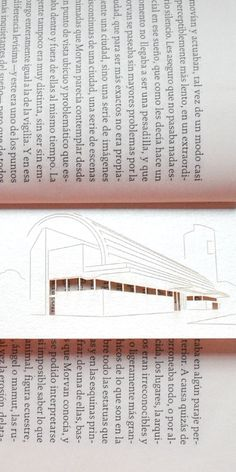 Bookmark over book. Fundacion Fortabat, Puerto Madero, Buenos Aires.
