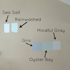 Comparing different Sherwin Williams paints