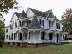 Historic Morton-Sizemore House c. 1885  Clarksville, VA::
