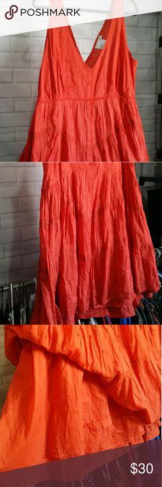 🎉HP🎉Plus size v-neck dress Gorgeous plus size v-neck sleeveless dress ASOS Curve Dresses Midi