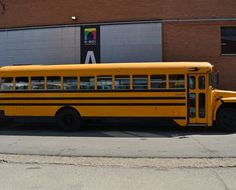 Street Trucks _ School Bus Internacional 1986