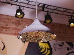 Mennyezeti lámpa - ezüst - függőlámpa - ISKAR