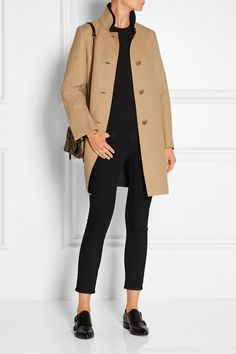 Maje MAJE Grace felt coat $675