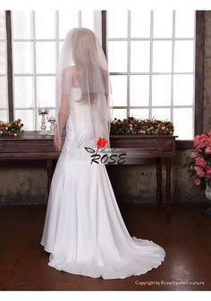Wedding Veil Bridal Veil 3 Tiers Veil with Comb Style BV152 - Wedding Veil