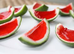 Yum... I'd Pinch That! | Watermelon Lime Jello shots