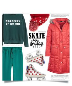 """""""Puffer jacket"""" by dolly-valkyrie ❤ liked on Polyvore featuring H&M, Barbour, Golden Goose, Collection XIIX, Yves Saint Laurent, WALL and puffers"""