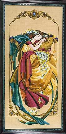 "Mirabilia Cross Stitch ""The Dreamer""  MD8 - NEW, UNOPENED by WhimseysByAnne, $10.00"