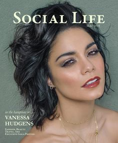 On the cover of Social Life Magazine